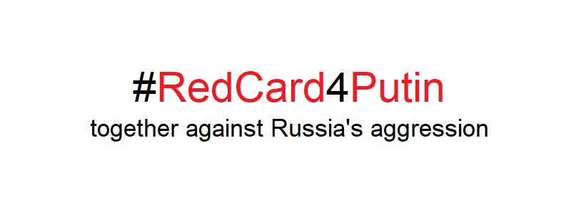 Rote Karte für Putin